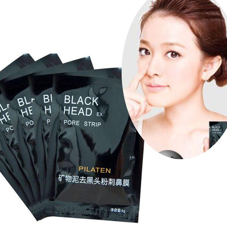 PILATEN 10pcs/lot Face Care Nose Facial Blackhead Remover Mask Minerals Pore Cleanser Black Head EX Pore Strip Nose Mask #clothing,#shoes,#jewelry,#women,#men,#hats,#watches,#belts,#fashion,#style