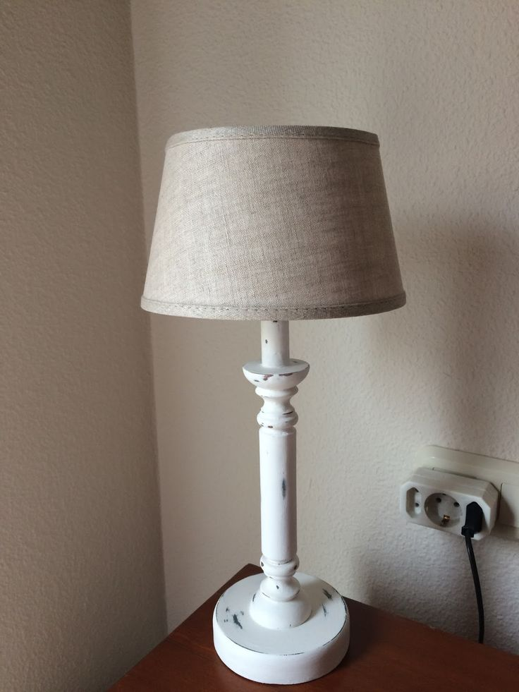 Cambio de imagen lámpara mesilla.