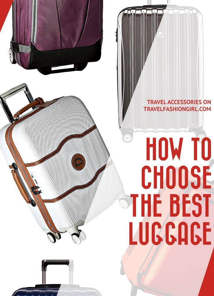 72523b977e7 If you re wondering how to choose the best luggage for international travel