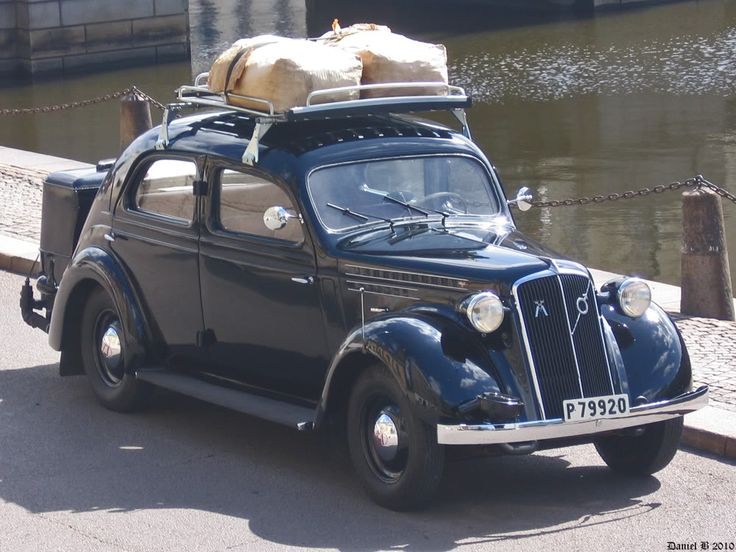 Volvo PV36 Carioca 1940, as it could be seen in Sweden sometime during second world war... It's converted to run on the gases from birchwood... The fuel is loaded on the roof.