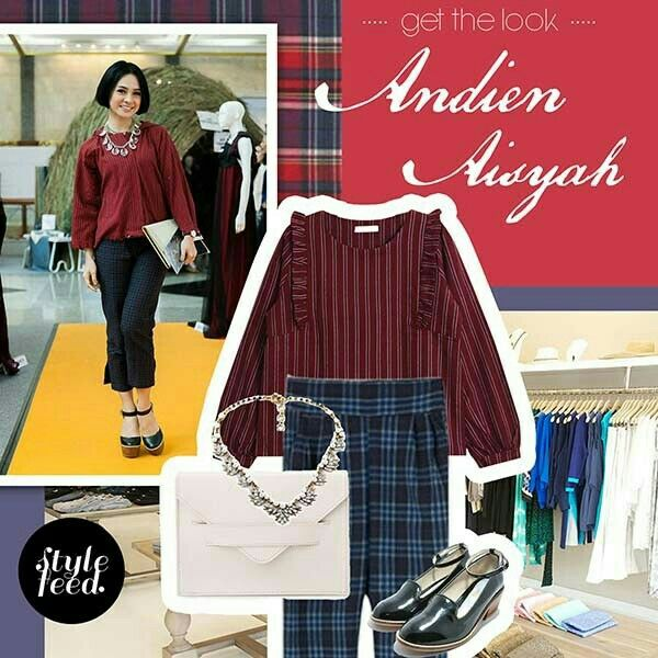 Get The Look ; Andien Aisyah  #artiststyle #streetstyle #stylefeed #fashionapp #ootd #fashionset #styleapp #fashionista #style #fashion #stylingapp #casual #formal  #whattowear #ootdindo #localbrand #fashioninspiration