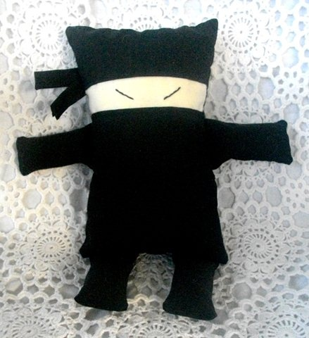 Meet the Oblongs - Kid Ninja Small Softie. By Mozzie & Mac