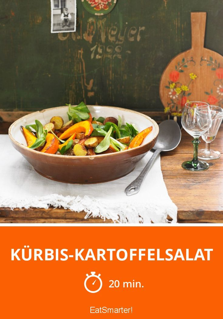 Kürbis-Kartoffelsalat |  http://eatsmarter.de/rezepte/kurbis-kartoffelsalat