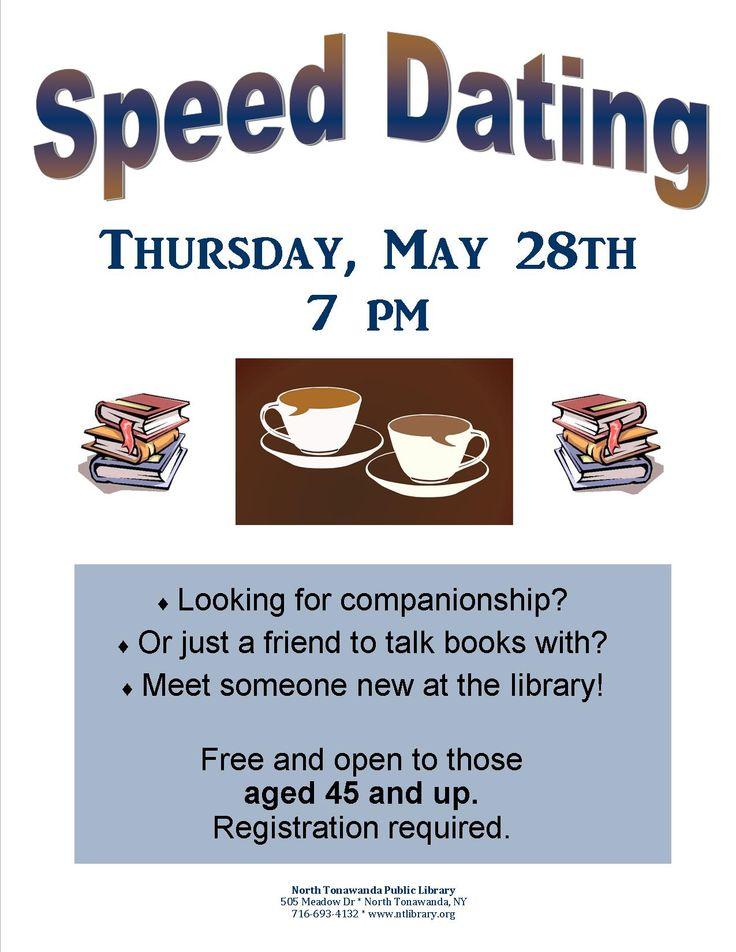 Speed dating free library philadelphia