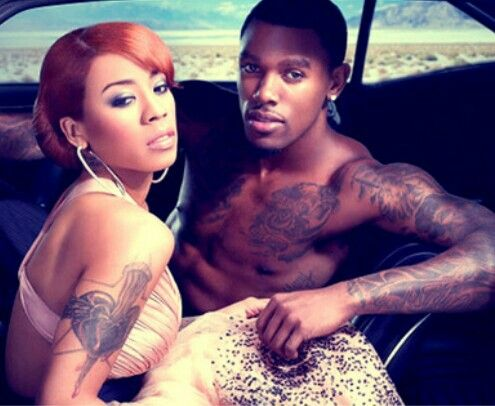 Keyshia Cole & Husband Daniel Gibson. | Famous People ...