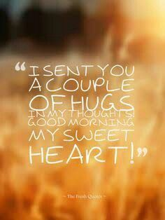 Good morning my beautiful sweetheart you stay warm I miss you and love you soo much...♡ ♡ @