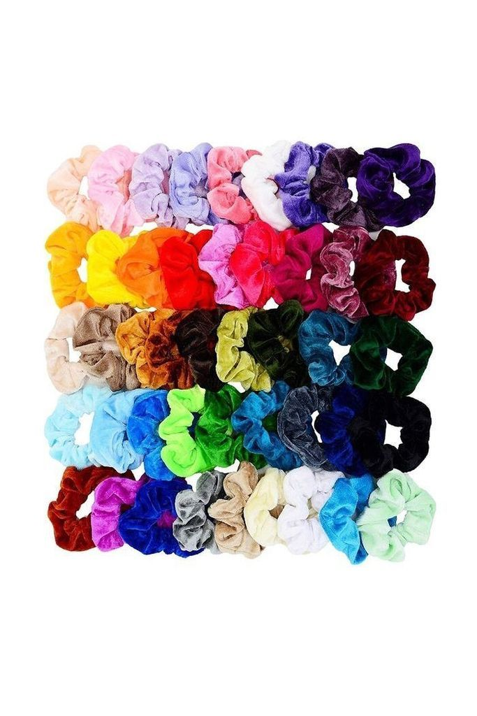 Velvet Elastic Hair Scrunchie Scrunchie Hairstyles Girls Hair
