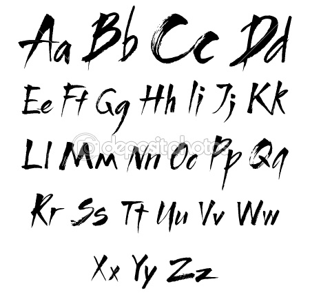 1000+ images about Lettering on Pinterest   Hand Lettering, Alphabet ...