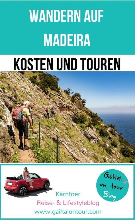 Was kostet eine Wanderreise nach Madeira? Infos zu Anreise, Unterkunft im 4*-Hotel, geführten Touren und sonstigen Ausgaben. #Wandern #Madeira