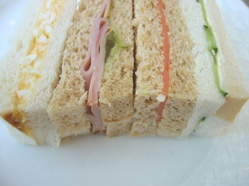 High tea - finger sandwiches are one of my favorites!  :)