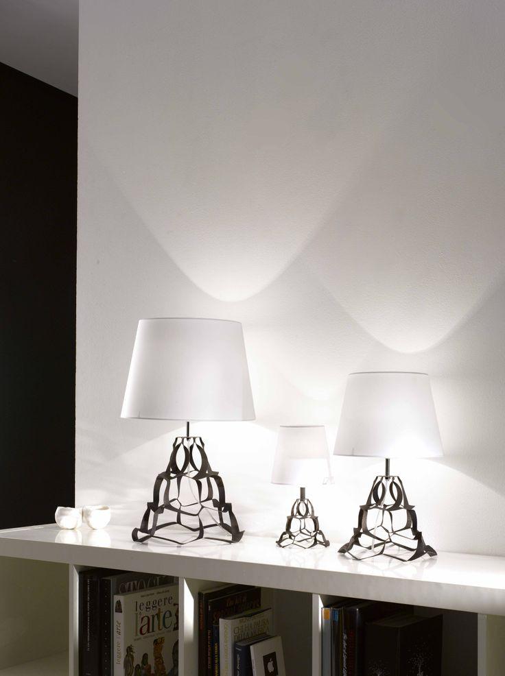 #Anais by Selène Illuminazione, a precious #TableLamp