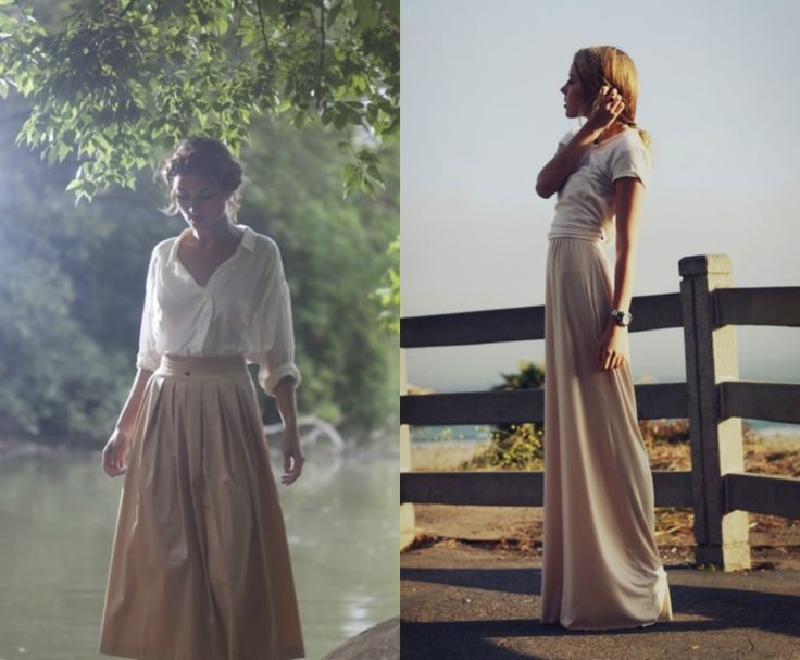 SUMMER FASHION GUIDE : GONNE LUNGHE
