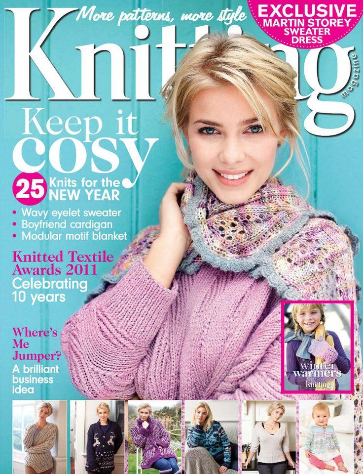 Knitting January 2012