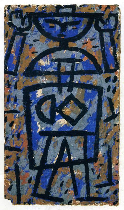 Paul Klee. « Haut les mains » 1938
