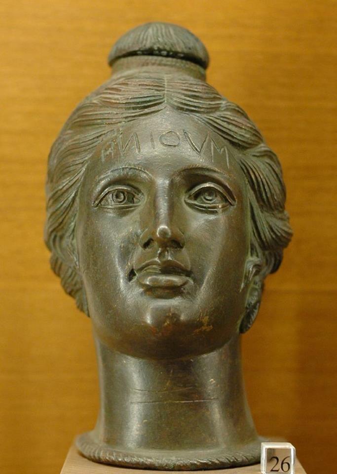Etruscan perfume vase - Louvre