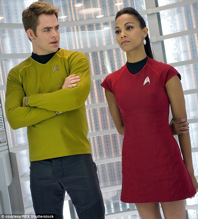 Zoe Saldana what? The actress is reprising her role as Uhura in the forthcoming Star Trek: Beyond