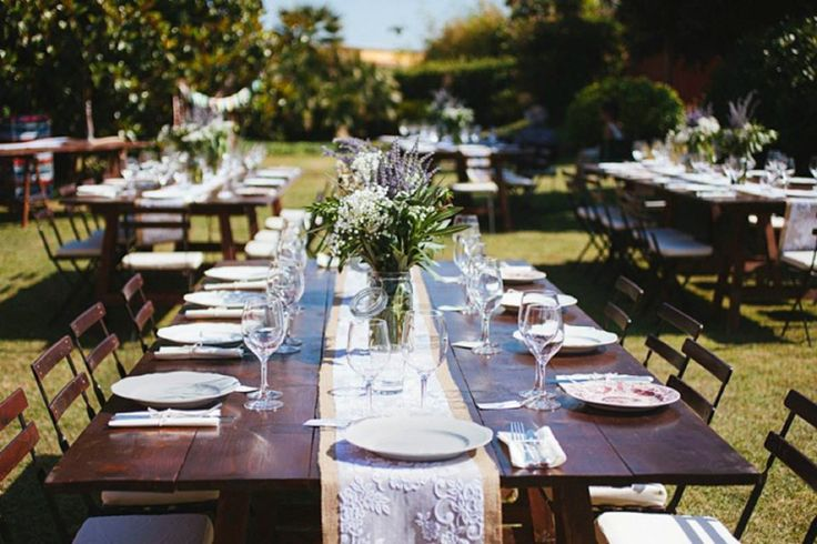 Our Rustic Eden table runners were used in Jennie & Francesco's devine Italian Wedding which featured in the European Wedding Blog 'Fly Away Bride'. Rustic Wedding Decor by www.marrighi.com.au