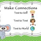 These adorable jungle theme reading comprehension posters will be sure to catch any student's attention! They are super cute and will not only add ...