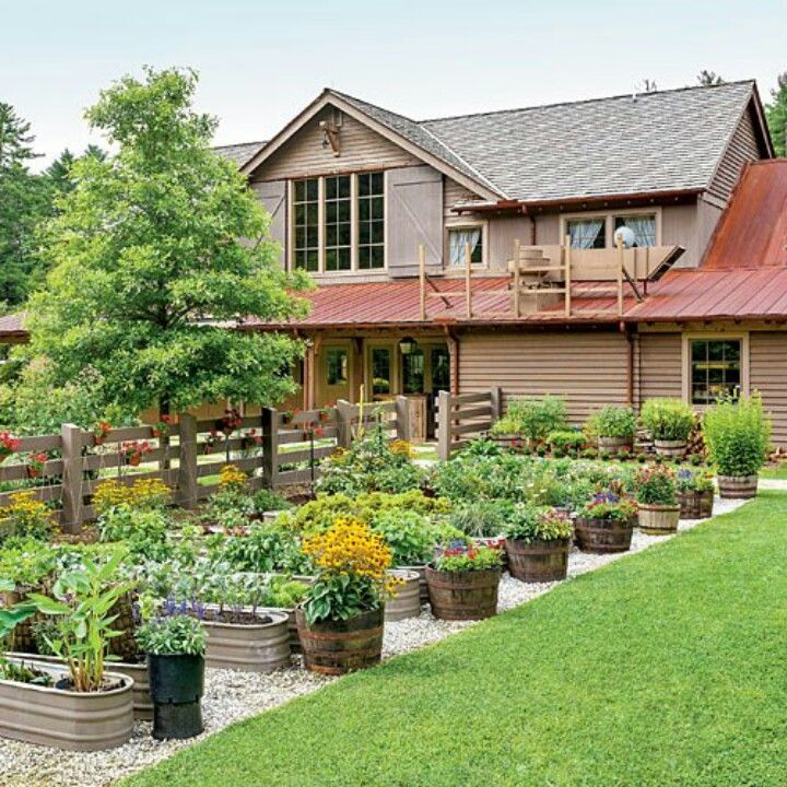Interesting layout for Container Gardening
