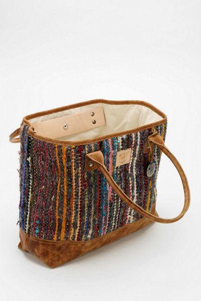 rag rug bag, urban outfitters