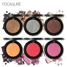 Focallure ombretto professionale di trucco matte eye shadow palette di trucco di scintillio di colori(China (Mainland))