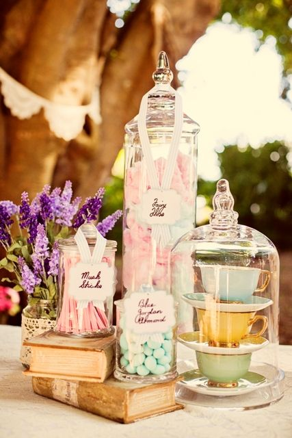 Vintage Books & Candy  Secret Garden Ceremony | The Bride's Tree - Sunshine Coast Wedding