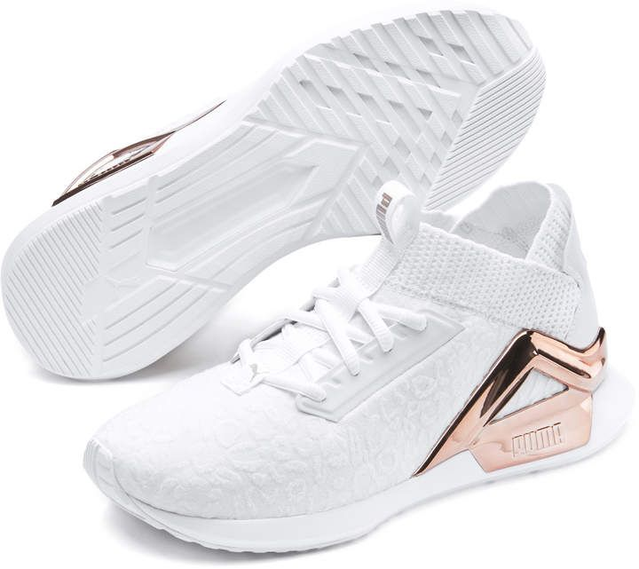 Puma Rogue Metallic #puma #rosegold #activewear… | Shoe