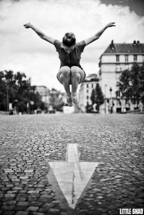 Sometimes you just got to get up and go! Dancers of The Street In Photos – Little Shao