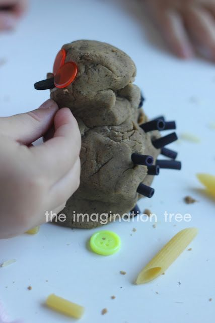 Gruffalo Play Dough! perfect for little lovers of this book- another great idea from The Imagination Tree