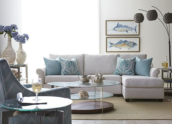 Seascape Sofa At Havertyu0027s Furniture