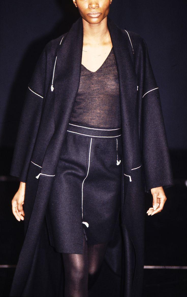 JAN MACHENHAUER 1994 #scandinavian #fashion #womenswear #copenhagen #90s #craft #tailoring