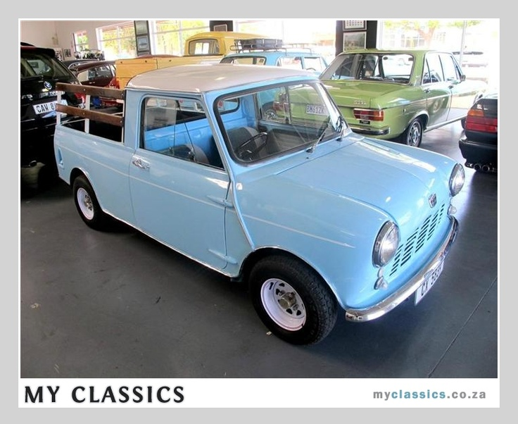 pretty tiny pickup truck. 1969 Austin Mini Pick up classic car 70 best mini pickup images on Pinterest  Classic Cars and