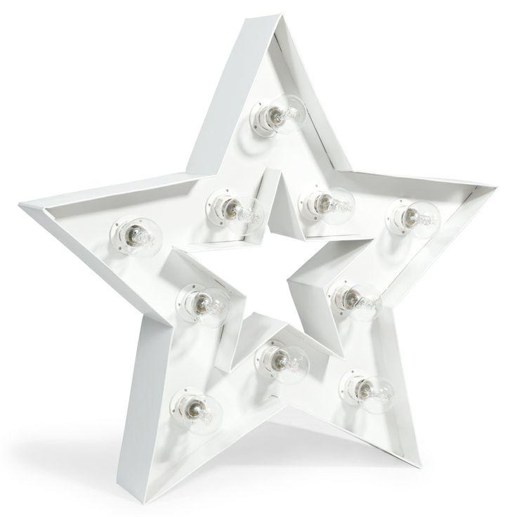 Cassiopée light-up star