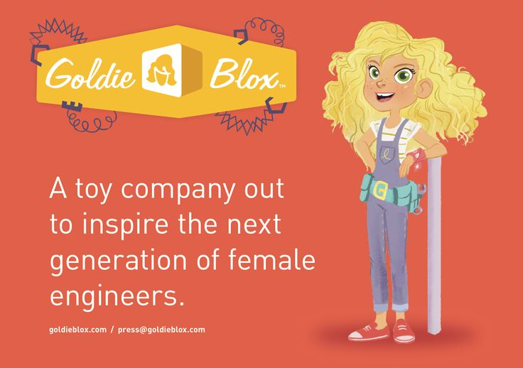 Her true passion – giving girls the toys that would allow them to enter the world of engineering, whether as a career or just to possess a valuable life-skill.