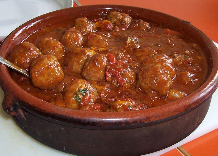 Tapas ✓ Spanische Albondigas Rezept