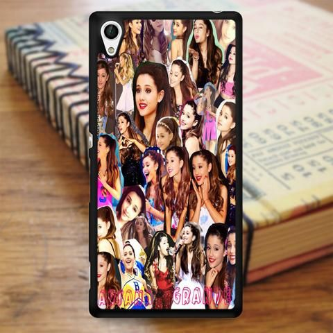 Ariana Grande Singer Collage Sony Experia Z4 Case