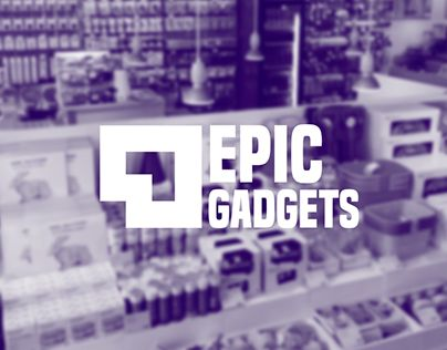"""Check out new work on my @Behance portfolio: """"Epic gadgets logo"""" http://be.net/gallery/57127623/Epic-gadgets-logo"""
