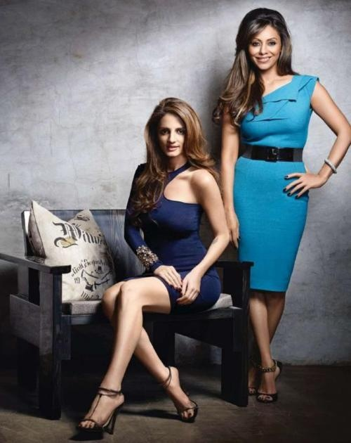 Bollywood wives,  Sussane Roshan and Gauri Khan