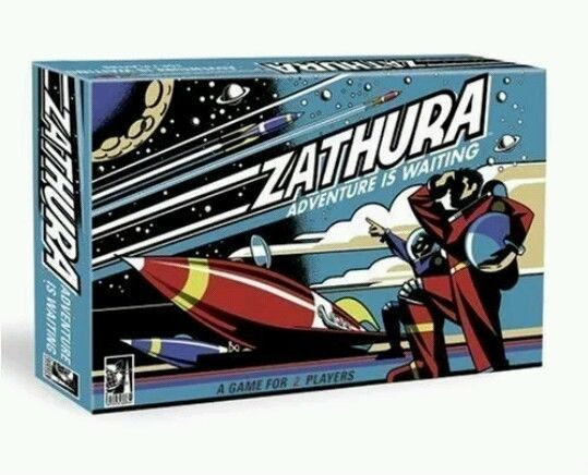 Zathura Adventure is Waiting 2 to 4 players board game  #PressmanToys