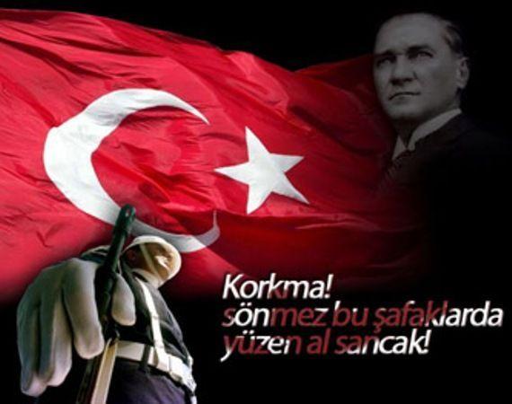 """✿ ❤ """"Korkma! Sönmez bu şafaklarda yüzen alsancak!""""   19 MAYIS Atatürk'ü Anma Gençlik Ve Spor Bayramı 97.Yılı ❤ ✿"""