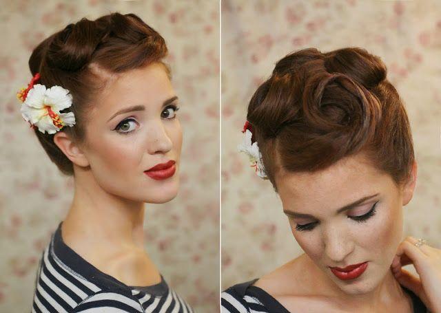 Rock N Roll Girl Hairstyles : 64 best rocknroll fashion images on pinterest