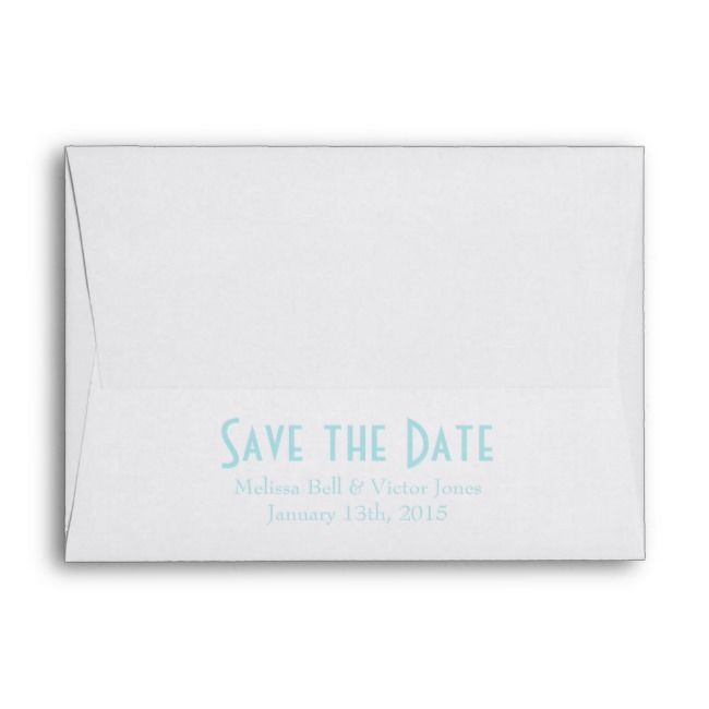 Create Your Own Envelope Zazzle Com Printing Wedding Invitations Printed Envelopes Save The Date