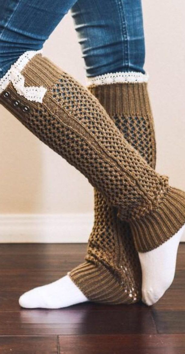 How To 32 Free Patterns To Make Crochet Leg Warmers Page 12 Of 31