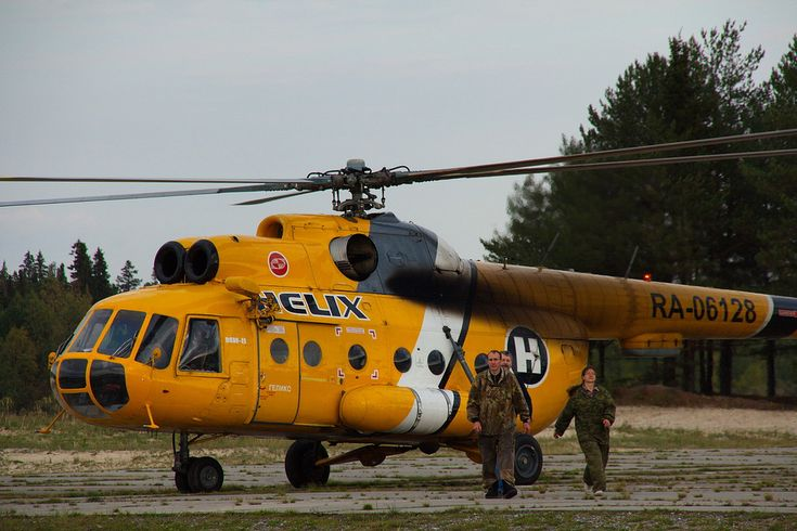 https://flic.kr/p/diNr4j | Helix Mil Mi-8T RA-06128 | This Helix Mi-8 took me from Surgut to Ugut, and then from Ugut to the southwesternmost corner of the Yuganskiy nature reserve.   I spent two weeks in a small log cabin in taiga with the two guys in camo suits - we went grouse counting and mushroom hunting (not vice versa, honestly) :) It was absolutely awesome.