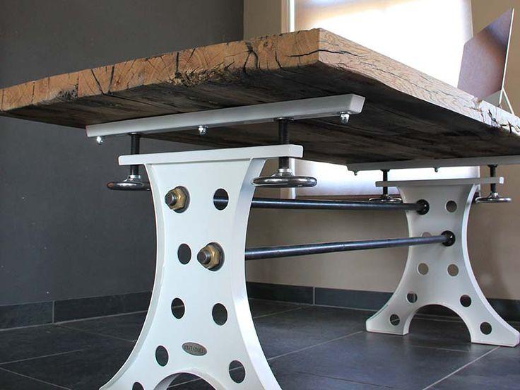 25 beste idee n over industrieel meubilair op pinterest vintage industrieel meubilair - Center meubilair keuken ...