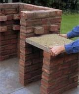 Brick built BBQ tutorial