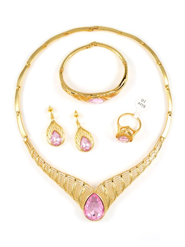 Online Wholesale Fashion JewelryCZ JewelryGold Plated Jewelry from China - Teemtry.  sc 1 st  Pinterest & 33 best Africa Jewelry Sets images on Pinterest | Fashion jewellery ...