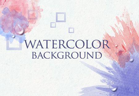 How to Create Watercolor Background using Phantasm CS and Adobe Illustrator + others tutorials Illustrator