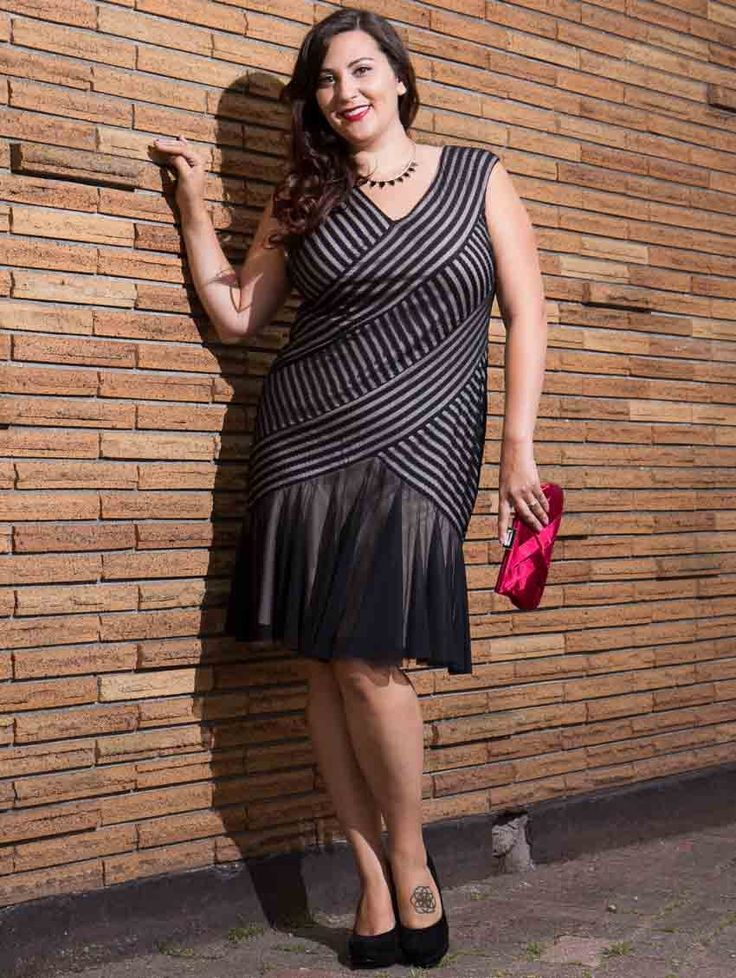 Vogue Plus Size Magazine   Plus Size Fashion Find of the Day…The Gatzby Dress From LucyClothing ...