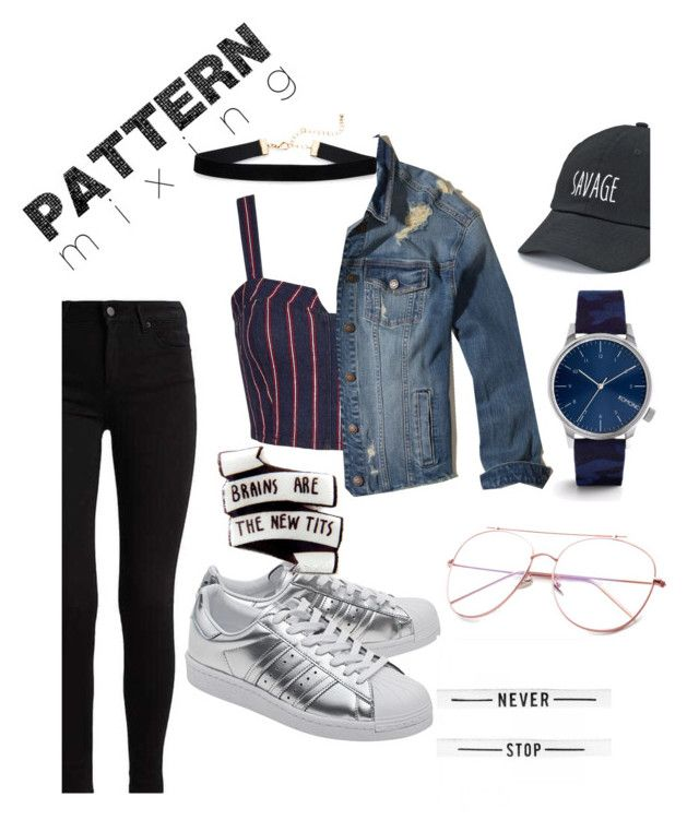 """""""Stay bold"""" by electicspy on Polyvore featuring 3x1, Hollister Co., adidas Originals, SO and Komono"""